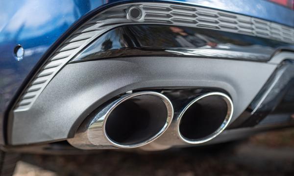 Audi Q7 wydech