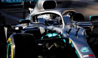 Bottas Valtteri 2019 GP Stanów Zjednoczonych Mercedes PP 2019