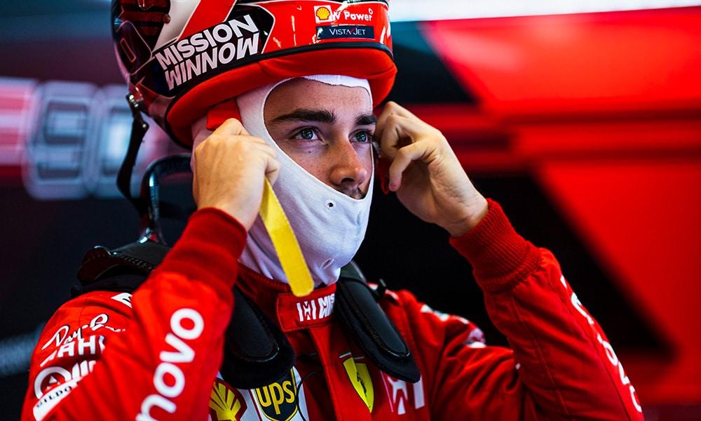 Charles Leclerc 2019 USA Ferrari