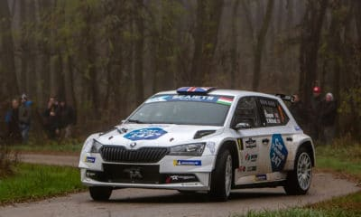 Chris Ingram ERC 2019 Champion RAJD Węgier