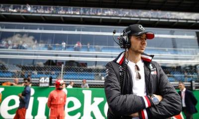 Esteban ocon Mercedes 2019 rezerwowy GP Włoch