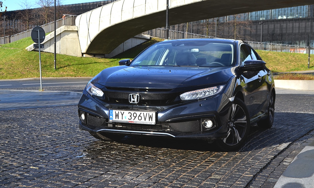 Honda Civic Sedan 2019 CVT główne