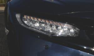 Honda Civic Sedan 2019 przednia lampa