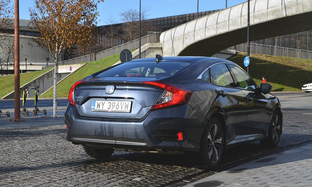Honda Civic Sedan 2019 tył