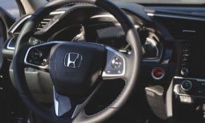 Honda Civic Sedan 2019 wnętrze 2