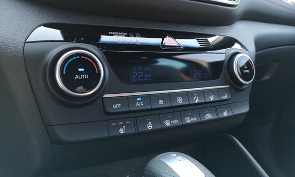 Hyundai Tucson N-Line 2019 klimatyzacja