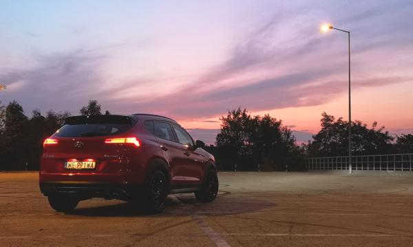 Hyundai Tucson N-Line 2019 tył noc