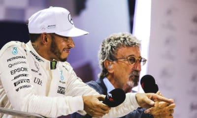 Lewis Hamilton i Eddie Jordan 2018 LAT
