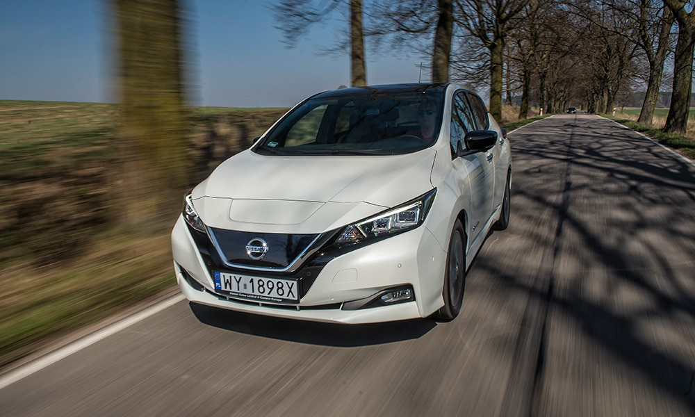 Nissan Leaf 2019 dofinansowania