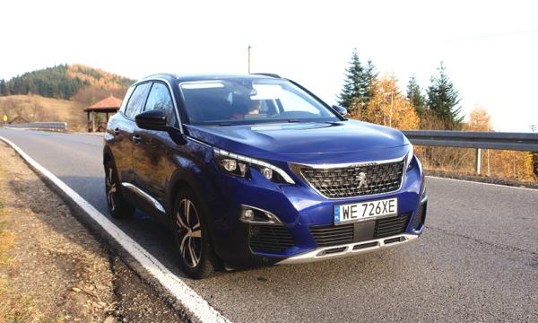 Peugeot 3008 przód 2