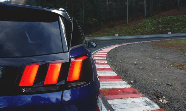 Peugeot 3008 tylny reflektor