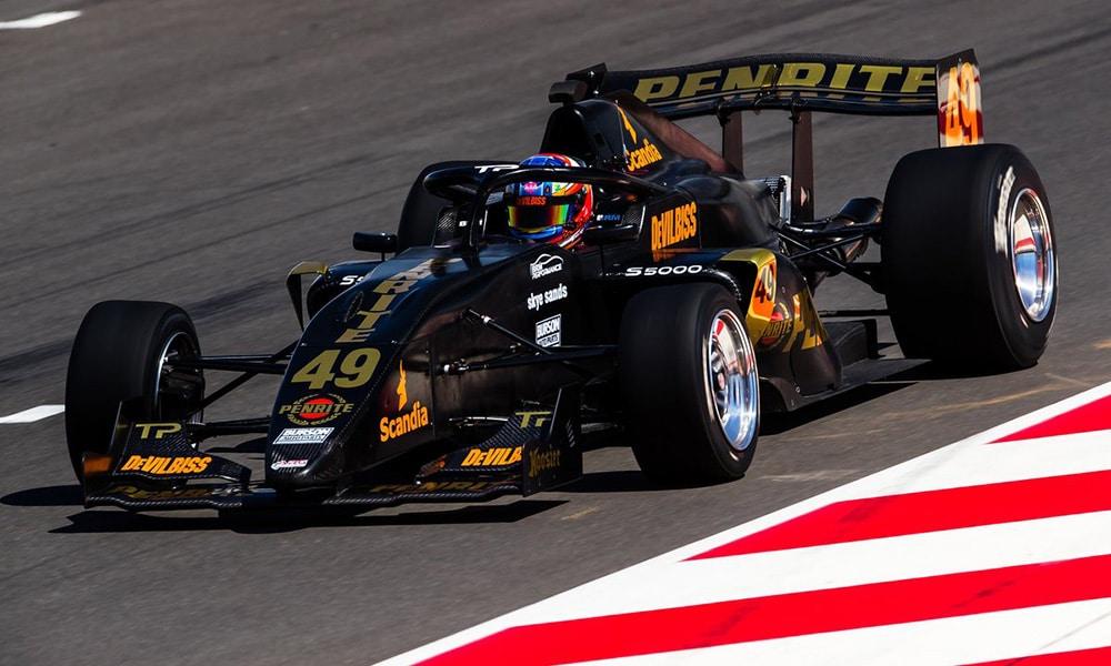 S5000 Thomas Randle The Bend Motorsport Park 2019