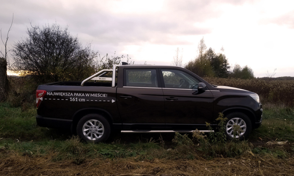 SsangYong Musso 2019 bok