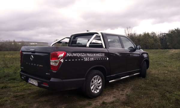 SsangYong Musso 2019 tył 2