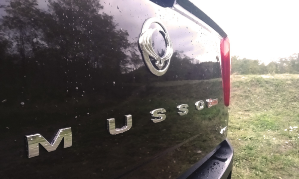 SsangYong Musso napis