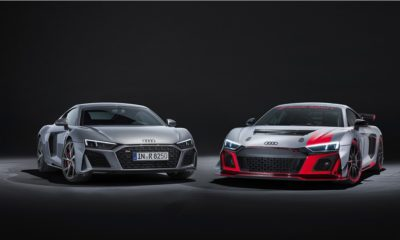 Audi R8 V10 RWD i R8 LMS GT4