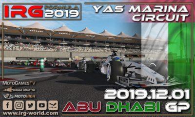 IRG Formula 2019 - GP Abu Dhabi