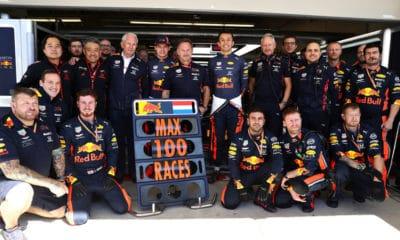 Max Verstappen - 100 wyścigów w F1 (USA 2019)