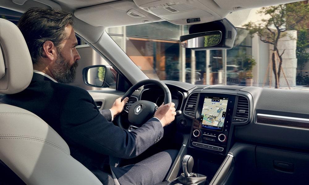 Renault Koleos 2019 - wnętrze