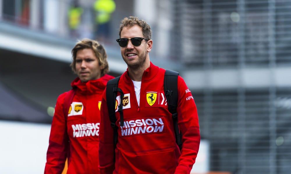 Sebastian Vettel Antti Kontsas - Meksyk 2019