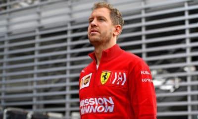 Sebastian Vettel - Meksyk 2019
