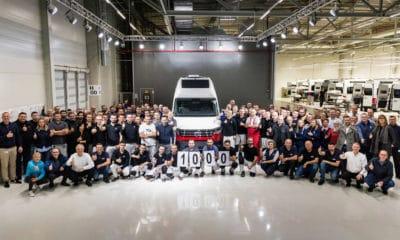 Volkswagen Grand California - 1000 wyprodukowany w fabryce we Wrześni