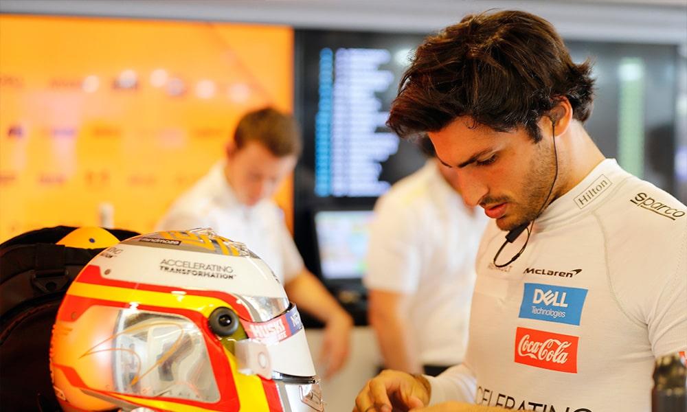 Carlos Sainz 2019 McLaren GP Abu Zabi Jean Alesi opinia