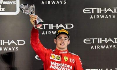 Charles Leclerc 2019 Ferrari GP Abu Zabi