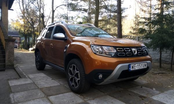 Dacia Duster przód 1