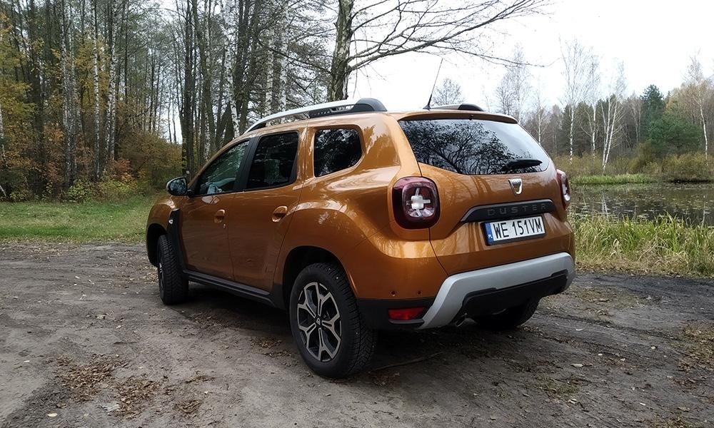 Dacia Duster tył 1