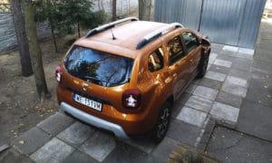 Dacia Duster tył z góry