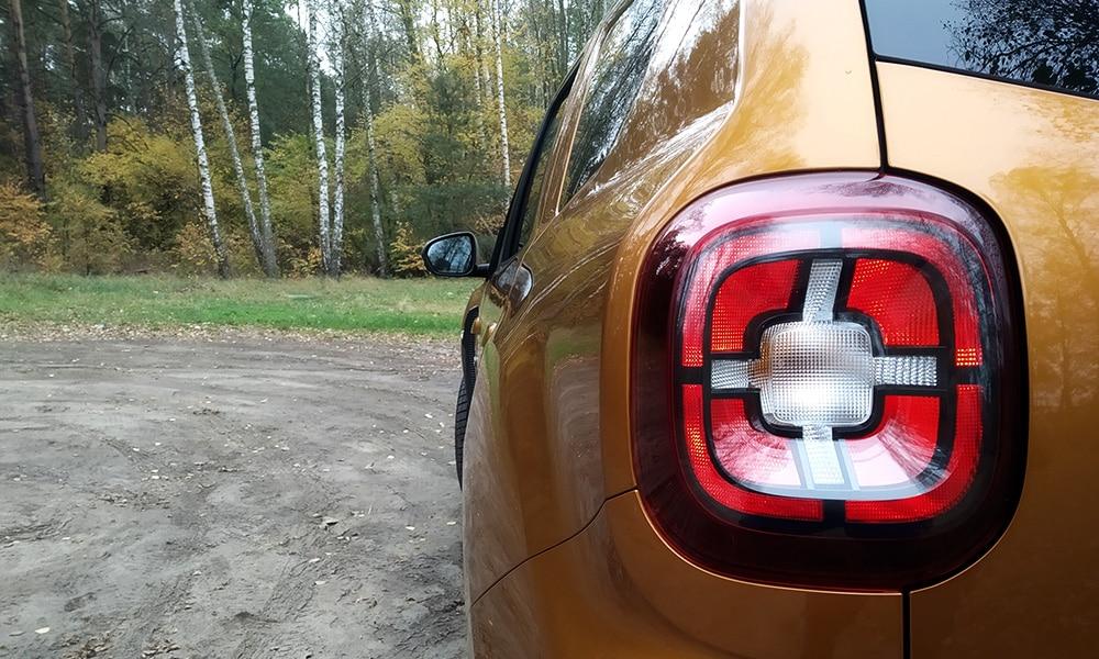 Dacia Duster tylna lampa