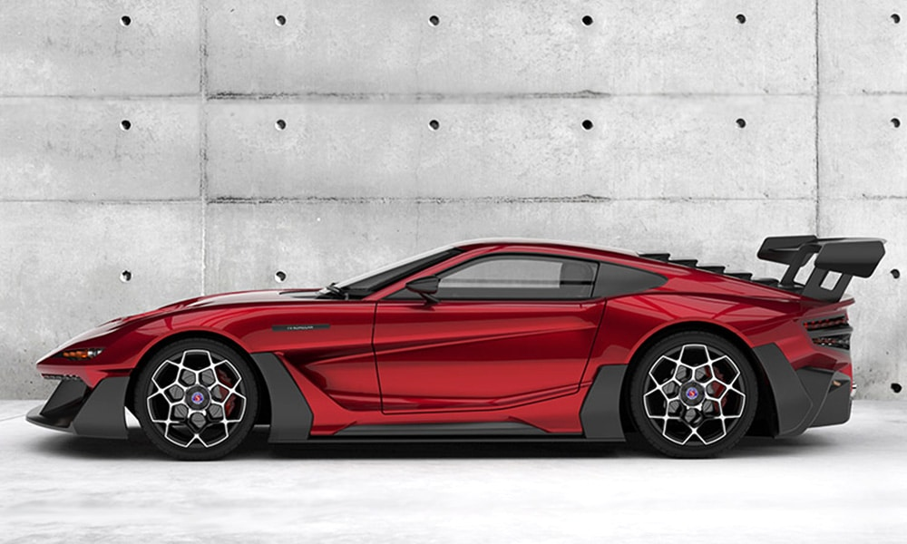 Factory Five F9R Red