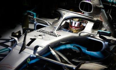 Lewis Hamilton numer 1 GP Abu Zabi treningi 2019