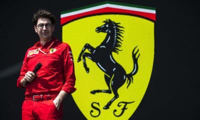 Mattia Binotto 2019 Scuderia Ferrari F1