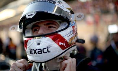 Max Verstappen 2019 GP Abu Zabi przed startem