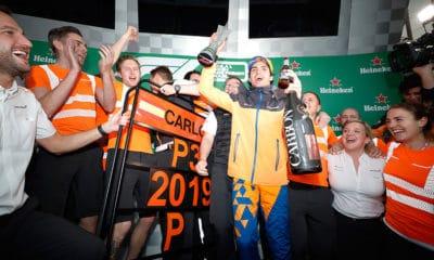 McLaren powrót na podium GP Brazylii 2019