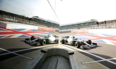 Mercedes 2019 W10 Shakedown Silverstone Project Pitlane