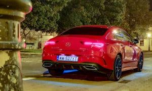Mercedes CLA 220 tył noc 3