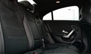 Mercedes CLA 220 tylna kanapa