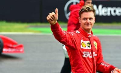 Mick Schumacher 2019 GP Niemiec przed jazdami F2004