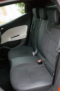 Renault Clio V tylna kanapa