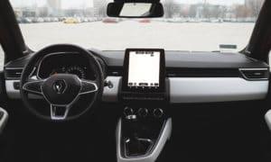 Renault Clio V wnętrze 2