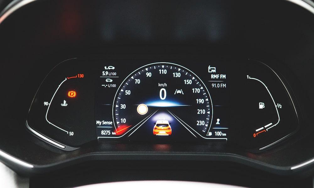 Renault Clio V zegary