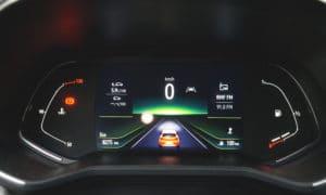 Renault Clio V wnętrze zegary 2