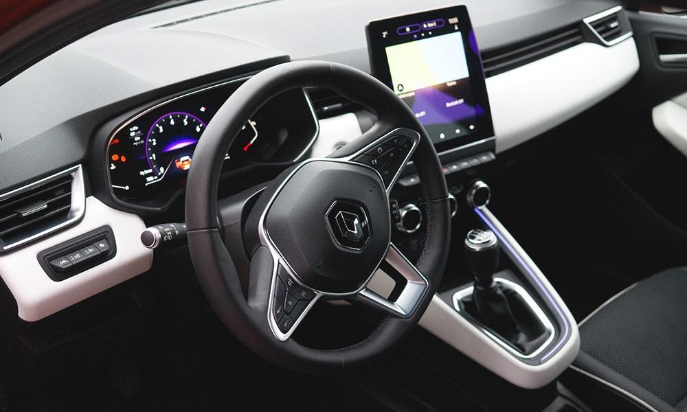 Renault Clio V wnętrze