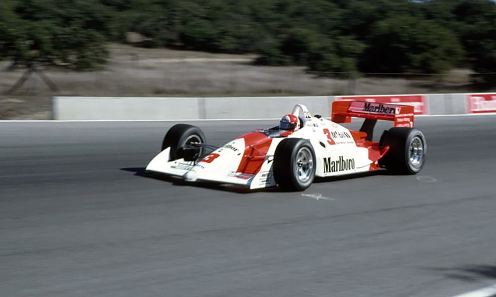 Rick Mears Laguna Seca 1991