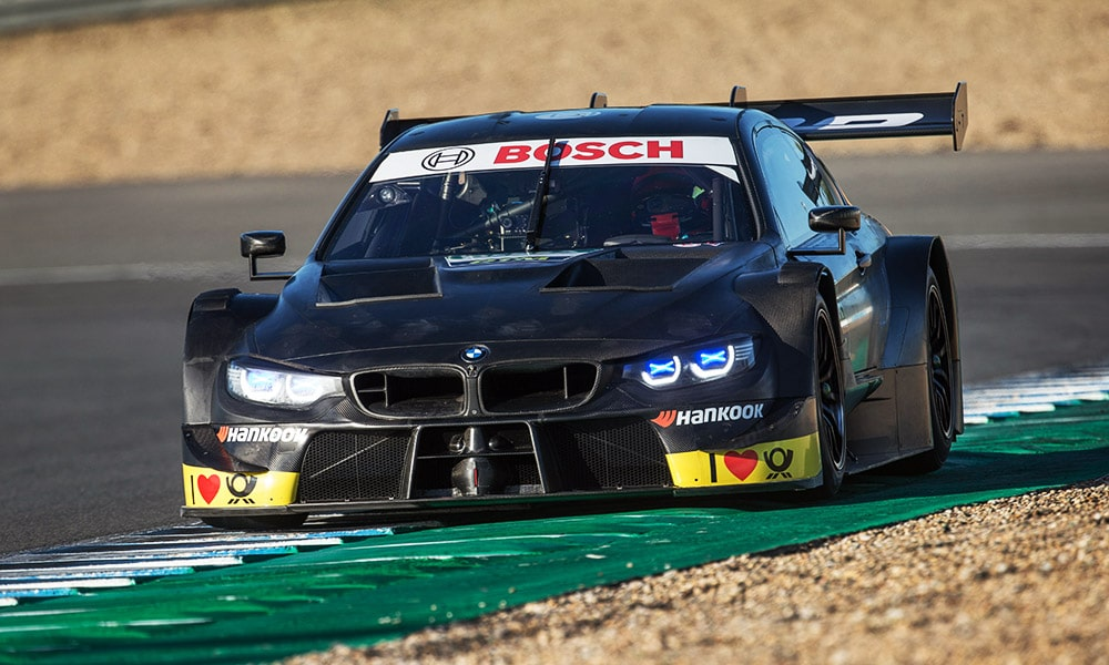Robert Kubica DTM BMW M4 2019 Test 2