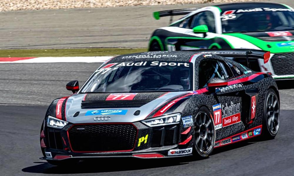 Robin Rogalski Audi R8 GT4 Cup