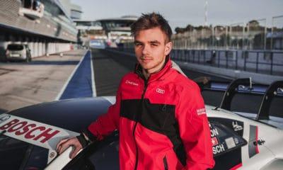 Robin Rogalski DTM Audi 2019 Testy
